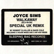 12inch Vinyl Single - Joyce Sims - Walkaway - The UK Remix - Promo