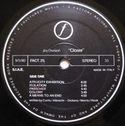LP - Joy Division - Closer