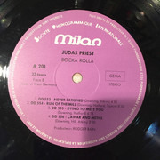 LP - Judas Priest - Rocka Rolla