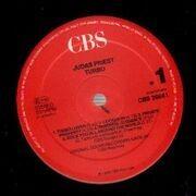 LP - Judas Priest - Turbo