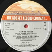 LP - Judie Tzuke - I Am The Phoenix