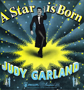 LP - Judy Garland - A Star Is Born - Large microgroove logo