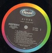 LP - Judy Garland - Alone