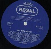 LP - Judy Garland - Miss Show Business