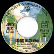 7inch Vinyl Single - Jürgen Drews - Ein Bett Im Kornfeld