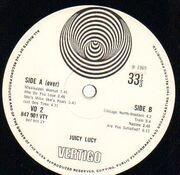 LP - Juicy Lucy - Juicy Lucy - Original UK, Vertigo Swirl