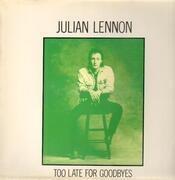12inch Vinyl Single - Julian Lennon - Too Late For Goodbyes