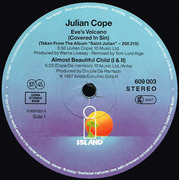 12inch Vinyl Single - Julian Cope - Eve's Volcano (Covered In Sin)