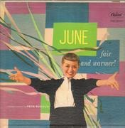 LP - June Christy - Fair And Warmer!