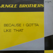 12inch Vinyl Single - Jungle Brothers - Because I Gotta Like That