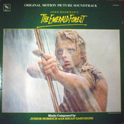 LP - Junior Homrich With Brian Gascoigne - The Emerald Forest Soundtrack