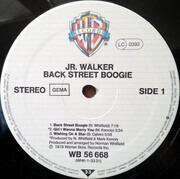 LP - Junior Walker - Back Street Boogie - Embossed Cover