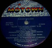 12inch Vinyl Single - Junior Walker - Blow The House Down