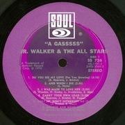 LP - Junior Walker & The All Stars - A Gasssss