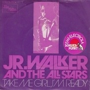 7inch Vinyl Single - Junior Walker & The All Stars - Take Me Girl, I'm Ready / I Don't Want To Do Wrong