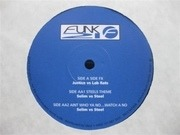 12inch Vinyl Single - Justice vs. The Lab Rats / Selim vs. Steel - Side FX / Steel's Theme / Ain't Who Ya No...Watch A No