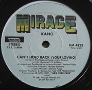 12inch Vinyl Single - Kano - Can't Hold Back (Your Loving) / She's A Star