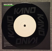 7inch Vinyl Single - Kano Featuring Craig David - This Is The Girl - Etched