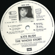 LP - Kate Bush - The Whole Story - Gatefold, DMM