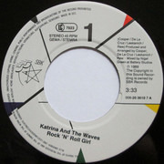 7inch Vinyl Single - Katrina And The Waves - Rock 'N'Roll Girl