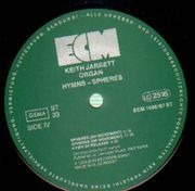 Double LP - Keith Jarrett - Hymns - Spheres
