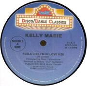 12inch Vinyl Single - Kelly Marie - Feels Like I'm In Love - Double A Side