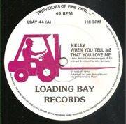 12inch Vinyl Single - Kelly Wilde - When You Tell Me That You Love Me / Gloria