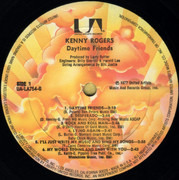 LP - Kenny Rogers - Daytime Friends - + Booklet