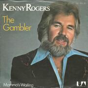 7inch Vinyl Single - Kenny Rogers - The Gambler