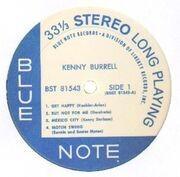 LP - Kenny Burrell - Kenny Burrell - ANDY WARHOL