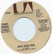 7inch Vinyl Single - Kenny Rogers - Sweet Music Man