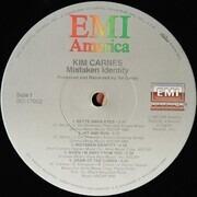 LP - Kim Carnes - Mistaken Identity - Still sealed