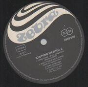 LP - Kin Ping Meh - No 2 - RARE PROG KRAUT, GERMAN ORIGINAL
