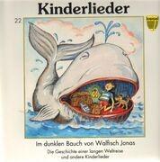 LP - Kinderlieder - Im dunklen Bauch von Walfisch Jonas - ungespielt