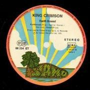 LP - King Crimson - Earthbound - Orig Ger pressing