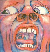 LP - King Crimson - In The Court Of The Crimson King - orange labels