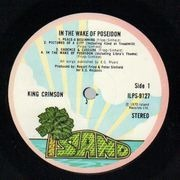 LP - King Crimson - In The Wake Of Poseidon - PINK RIM UK