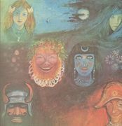 LP - King Crimson - In The Wake Of Poseidon - Textured sleeve, gatefold