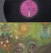 LP - King Crimson - In The Wake Of Poseidon - TEXTURED UK A2 B2