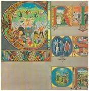 LP - King Crimson - Lizard - original 1st uk pink rim