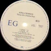 LP - King Crimson - Three Of A Perfect Pair