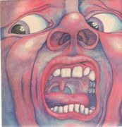 LP - King Crimson - In The Court Of The Crimson King - Pink Rim UK