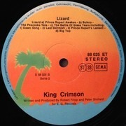 LP - King Crimson - Lizard