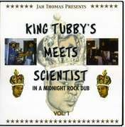 LP - King Tubby - Meets Scientist In A... - ...MIDNIGHT ROCK DUB