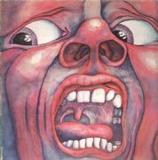 LP - King Crimson - In The Court Of The Crimson King - pink rim
