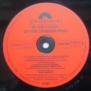 LP - King Crimson - In The Court Of The Crimson King (An Observation By King Crimson) - Gatefold