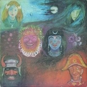 LP - King Crimson - In The Wake Of Poseidon - PRESWELL USA