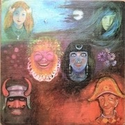 LP - King Crimson - In The Wake Of Poseidon - ORIG 1st UK PINK ISLAND i