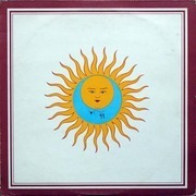 LP - King Crimson - Larks' Tongues In Aspic - UK PINK RIM A2U B2U