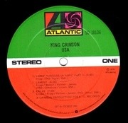 LP - King Crimson - Usa